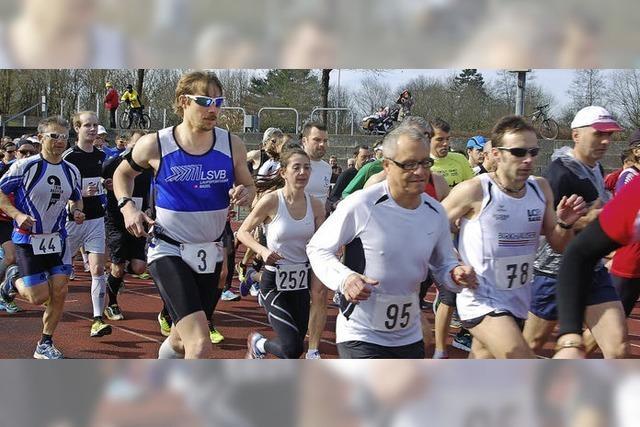 300 Läufer machen Beine
