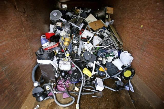 Händler sollen Elektrogeräte zurücknehmen