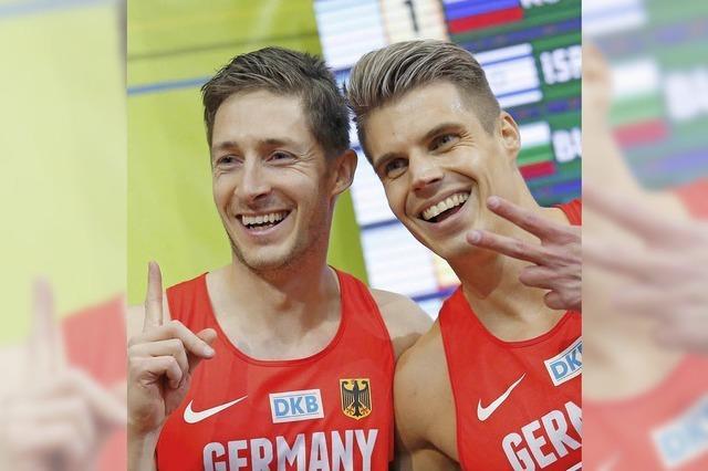 Die deutschen Sprinter legen los wie die Feuerwehr