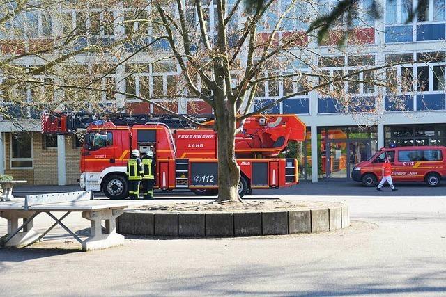 Brandeinsatz am Max-Planck-Gymnasium