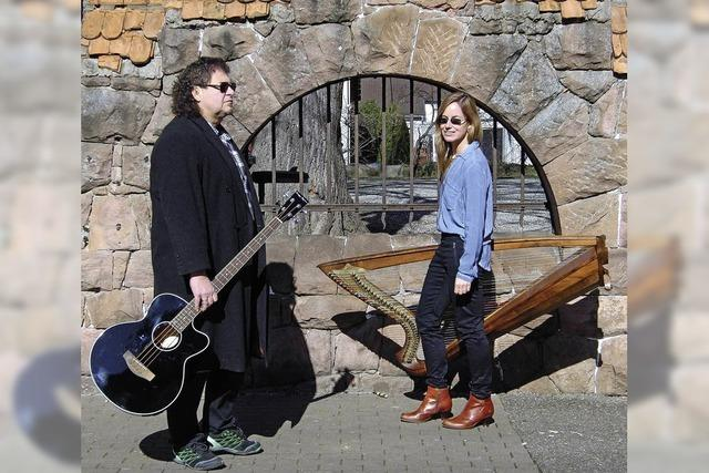Das Duo Immoment gastiert in Riegel