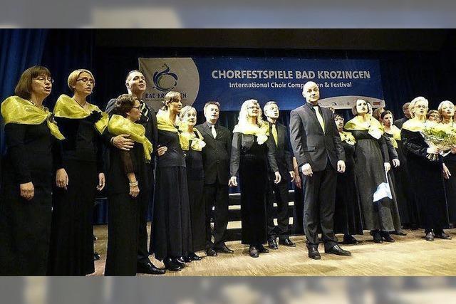 Walter-Scheel-Chorpreis geht nach Schweden