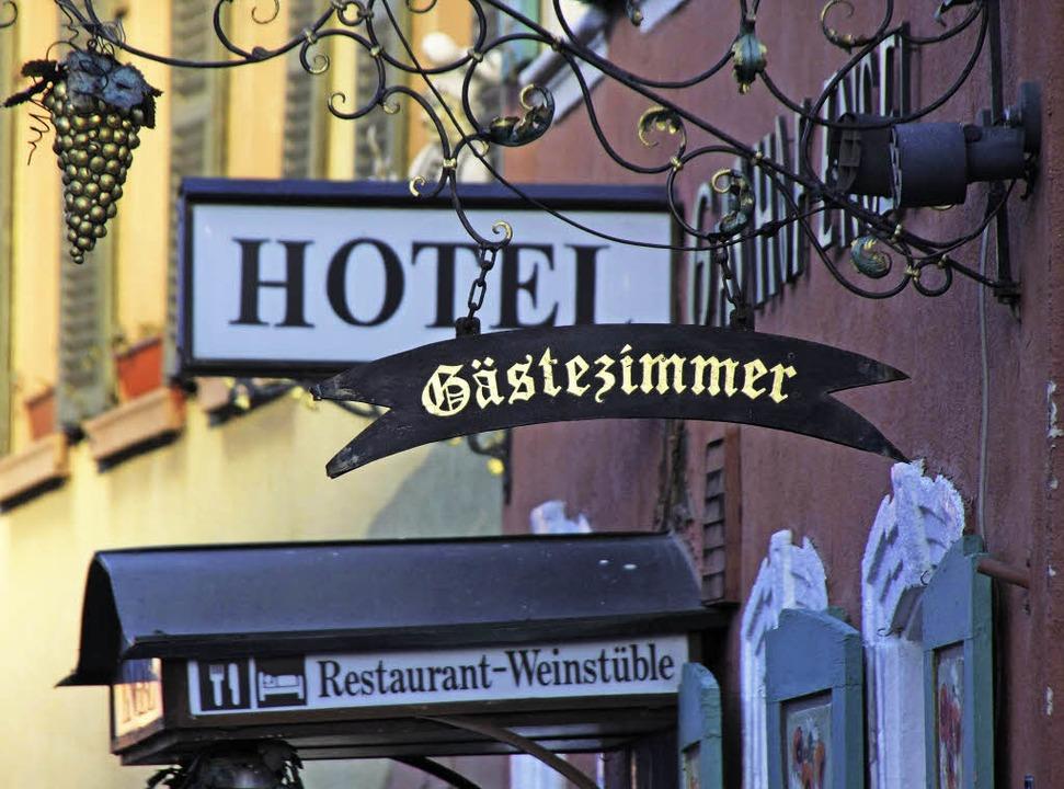 Endingen ist gefragt als Urlaubsort. D...els und Gasthäuser legten deutlich zu.    Foto: Wendel