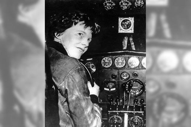 Fliegerin Amelia Earhart