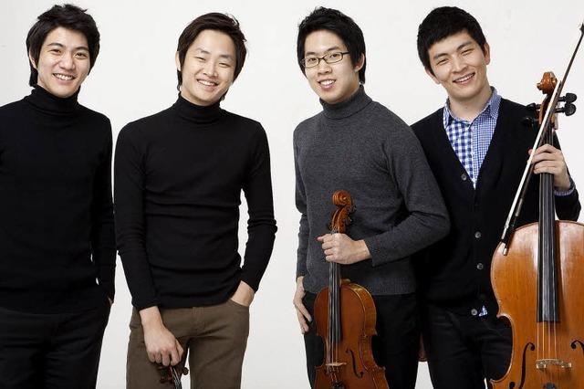 Das Novus String Quartett gastiert in der Waldshuter Stadthalle