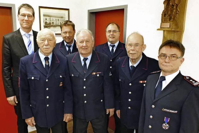 Seit 70 Jahren bei der Feuerwehr