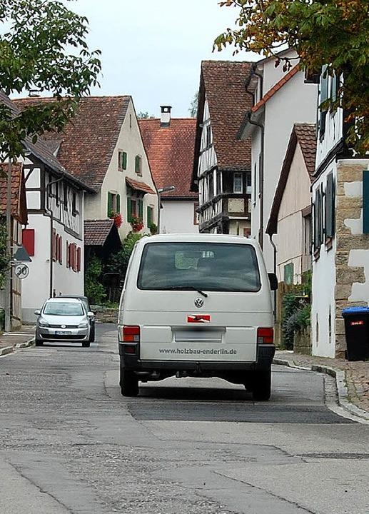 Fast überall im Dorf gilt Tempo 30, nu...e nicht – das soll sich ändern.   | Foto: Frey