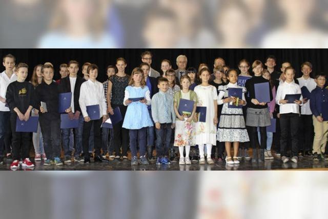 24 Preisträger in einem Konzert