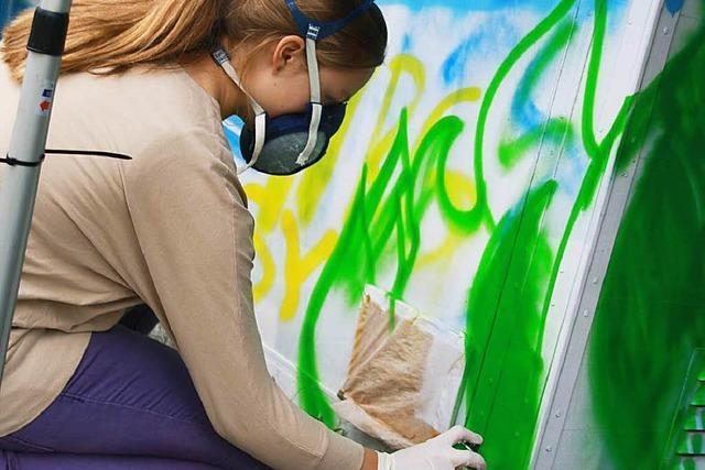 Graffiti-Kunst – ganz legal