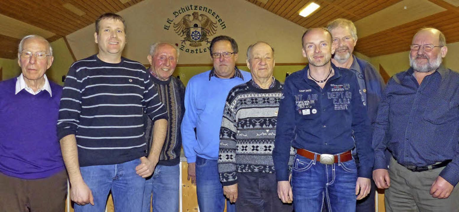 Die Geehrten des Schützenvereins (die anwesend waren)  | Foto: Barbara Odrich-Rees