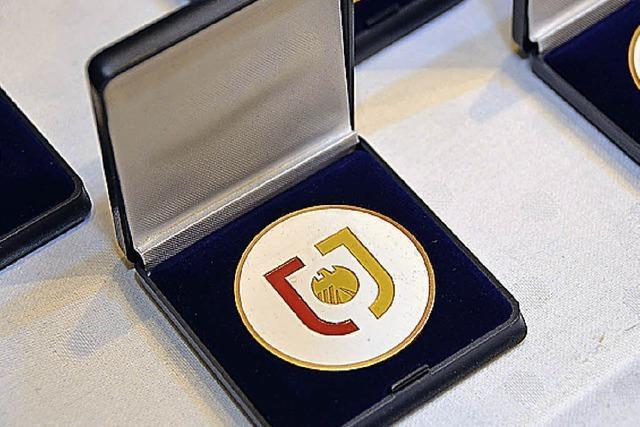 Medaillen für kleine und große Meister