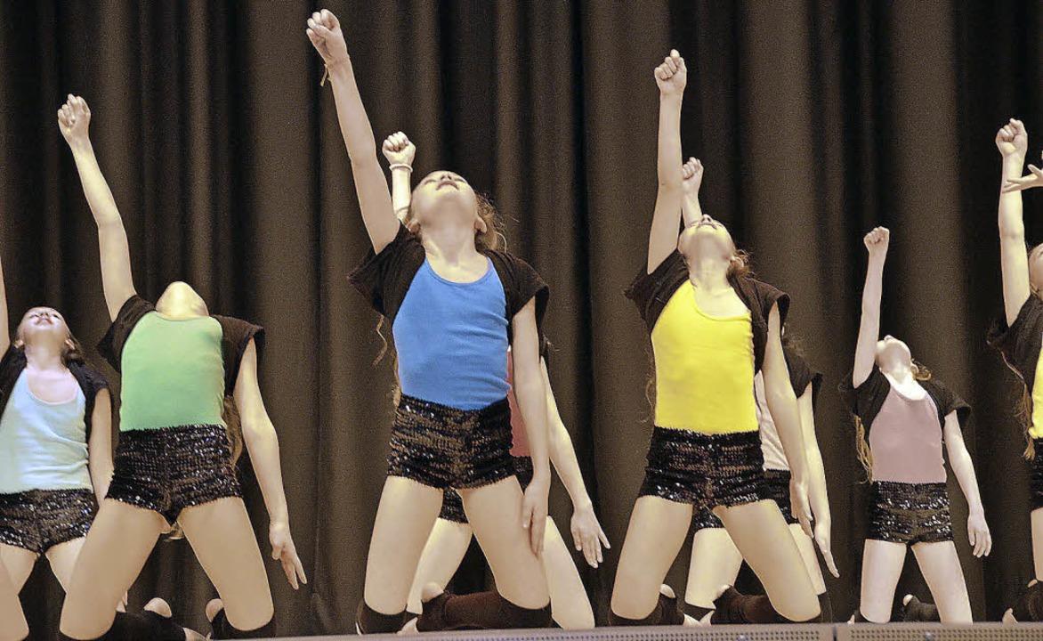 Weltmeister ist die Jazzdance-Gruppe M...ischen Sportbunds, Gundolf Fleischer.   | Foto: Tanja Bury