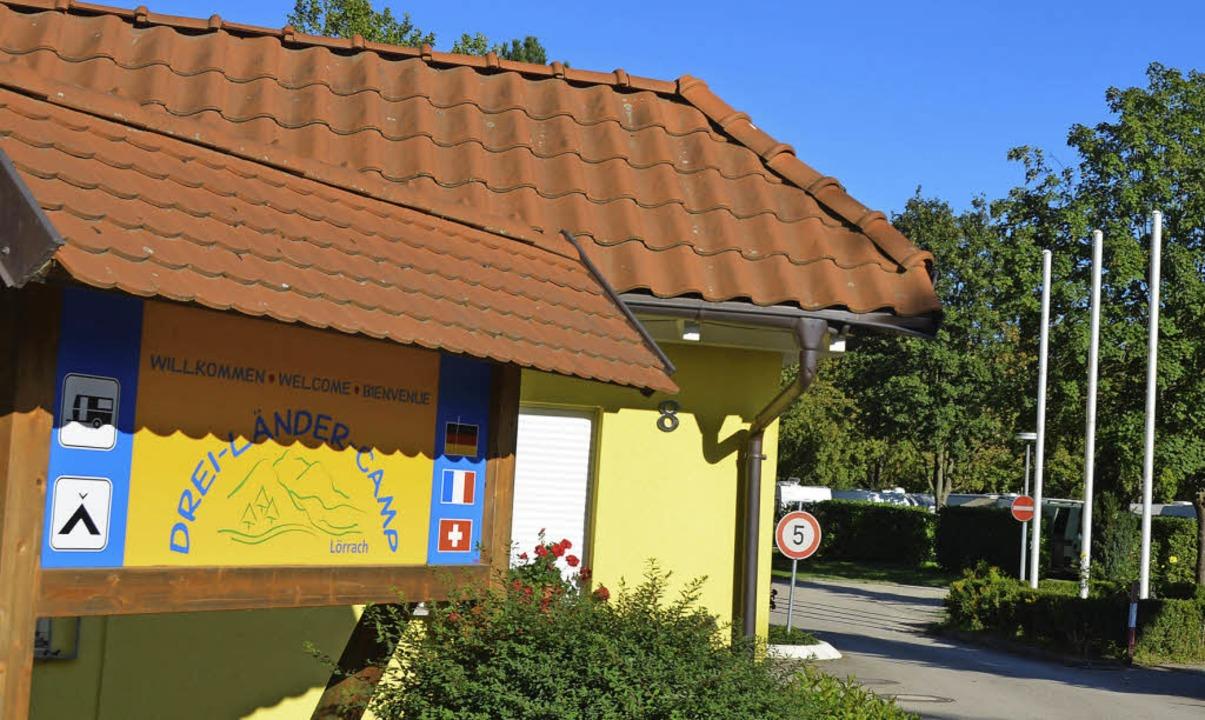 Campingplatz im Grütt: Eine Zwangsvers...soll in eine bessere  Zukunft führen.   | Foto: Nikolaus Trenz