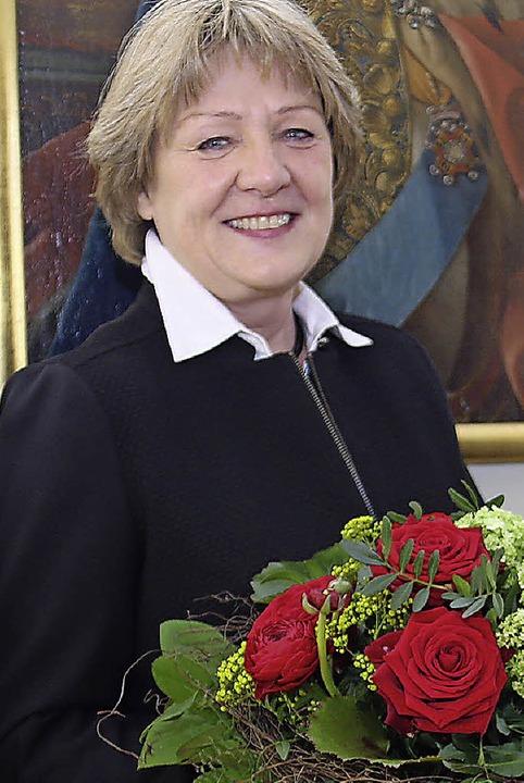 Monika Toussaint erhielt den  SPD-Frauenpreis.  | Foto: Dagmar Barber