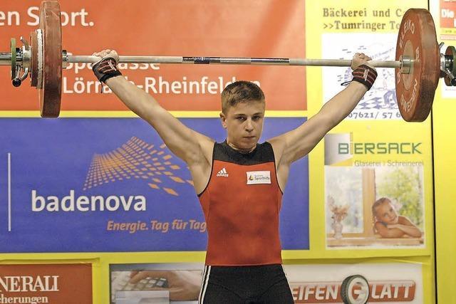 Moritz Huber in Rekordform