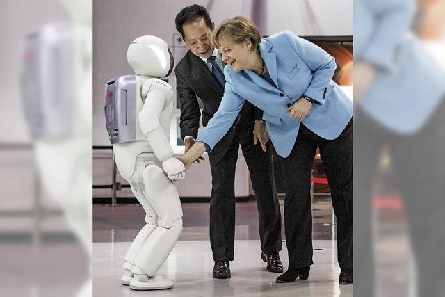Kanzlerin Merkel spricht Fukushima bei Besuch nicht an