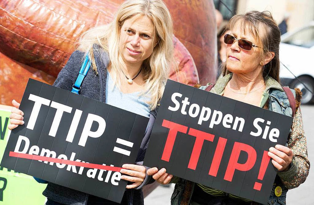 TTIP bewegt die Gemüter  | Foto: Kay Nietfeld