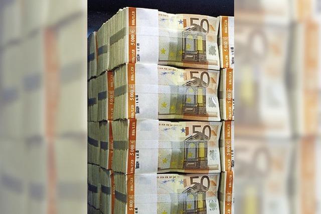Zentralbank kauft Staatspapiere auf