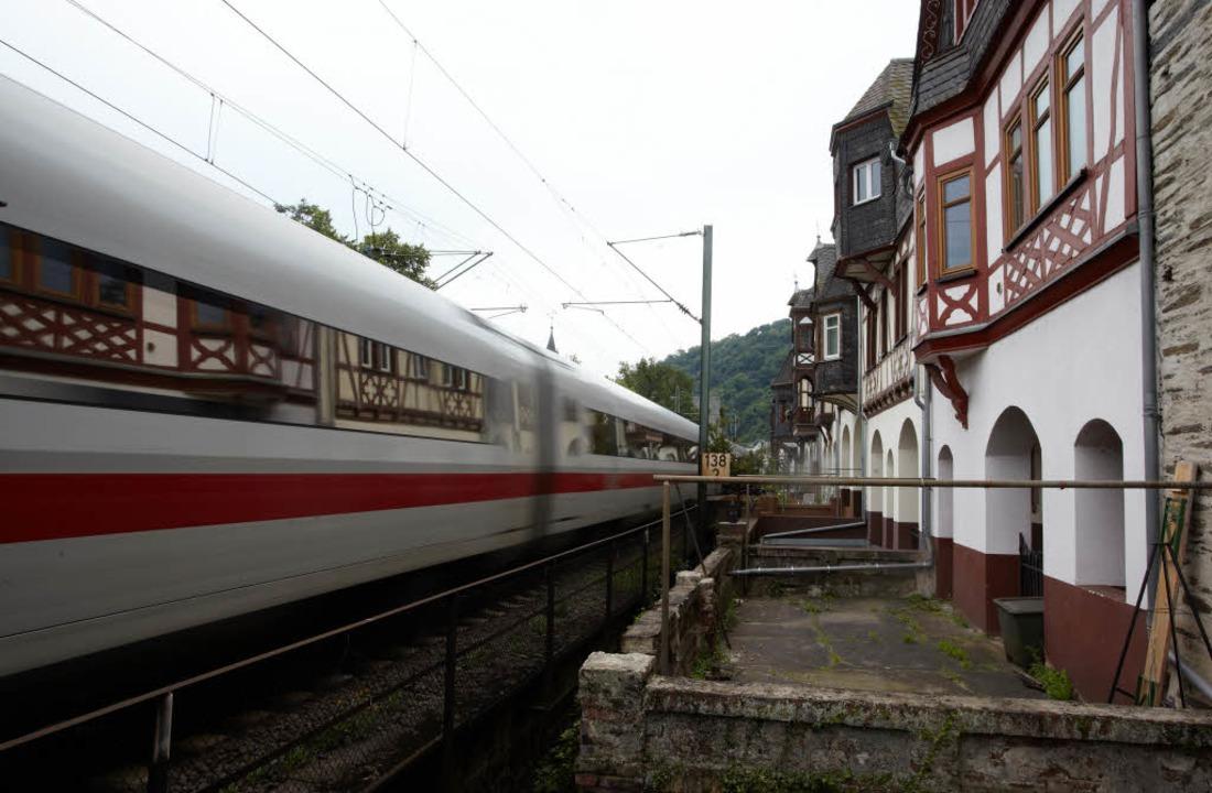 Bahnlärm macht krank.  | Foto: dpa