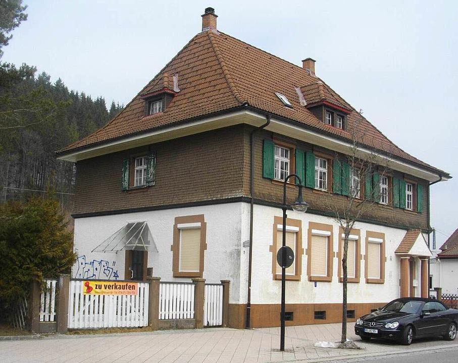 Der Polizeiposten Titisee steht seit vielen Jahren leer.     Foto: Heinz Roller