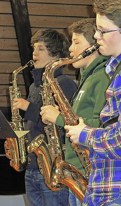Gehören  zu jeder Big Band: Saxophone   | Foto: Siemann