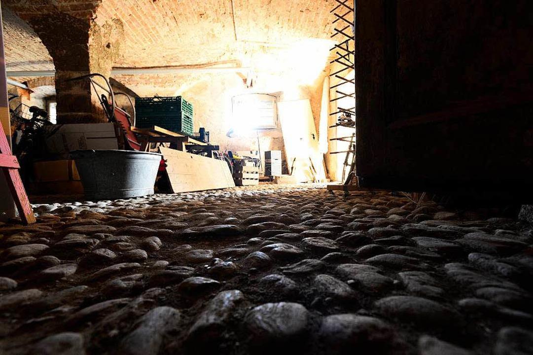 Untergeschoss mit erhöhtem Gruselfakto...seit 1750 unberührt – angeblich.  | Foto: Ingo Schneider