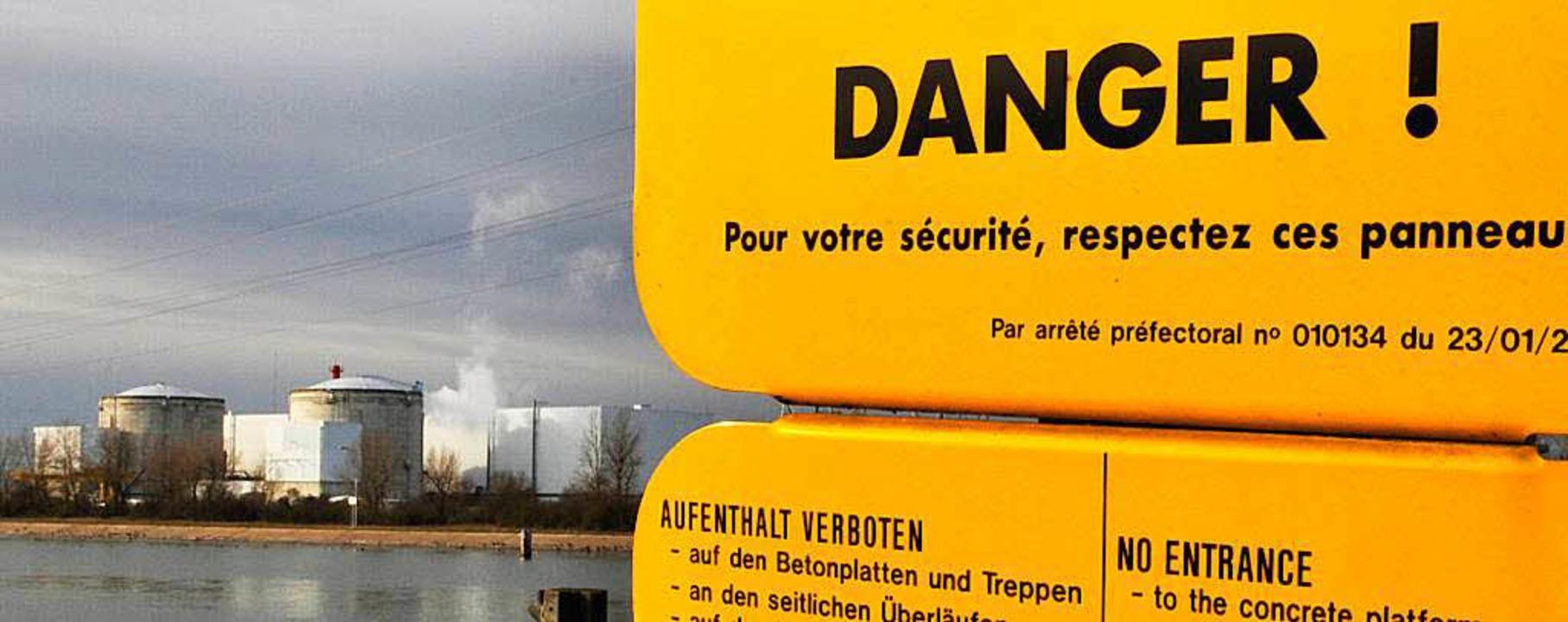 Im Akw in Fessenheim ist ein Sicherheitsalarm ausgelöst worden.  | Foto: dpa