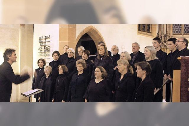 Der Chor des evangelischen Kirchenbezirks gibt Konzerte in Riegel und Emmendingen