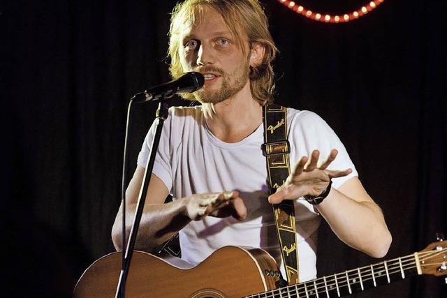 Matthias Häfele und die Sternensee-Band in Freiburg