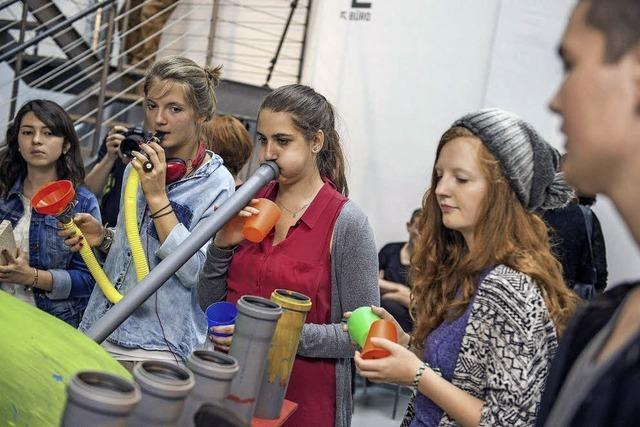 Am Freitag beginnt der Jugendkunstparkour in Freiburg