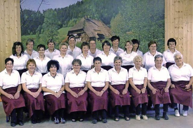 Die Landfrauen sind im Dorfleben vielfältig aktiv