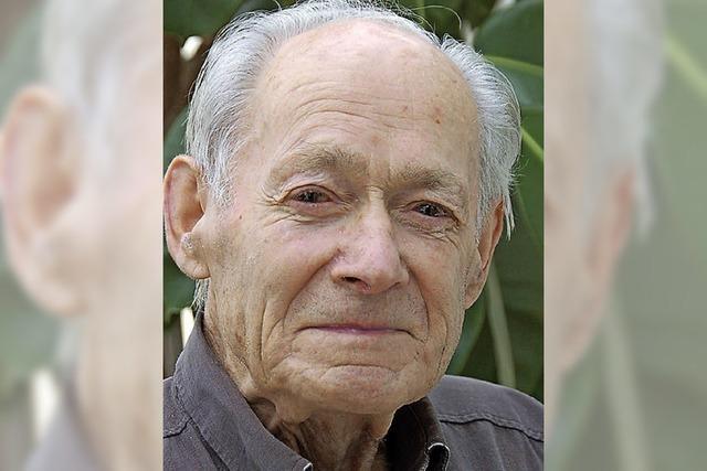 Trauer um Bauunternehmer Erwin Haas