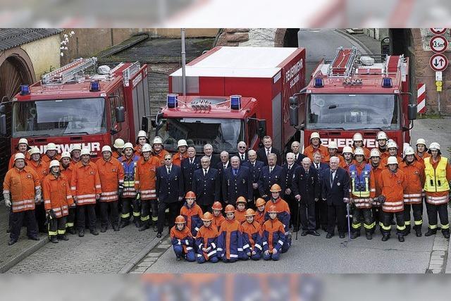 Feuerwehrabteilungen Sulzburg und Laufen fusionieren