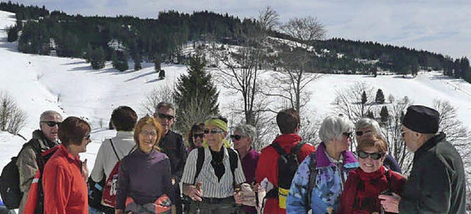 Die Skiclubsenioren hatten in Todtnauberg viel Spaß.   | Foto: Privat