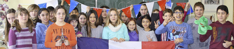So macht Französisch lernen Spaß: Das ...rd, die  sogleich ausprobiert wurden.   | Foto: Privat