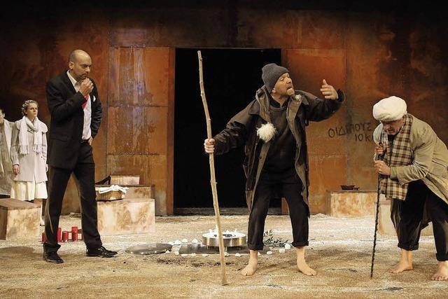 Das a.gon Theater München spielt König Ödipus in Lahr