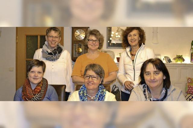 Neues Landfrauen-Team