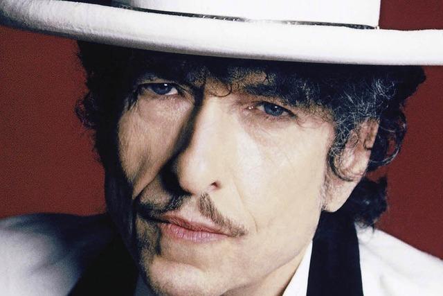 Bob Dylan auf dem Marktplatz
