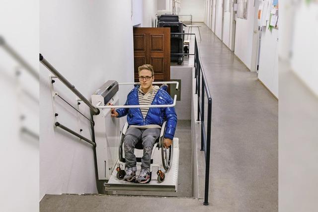 Treppenlift sorgt für Barrierefreiheit