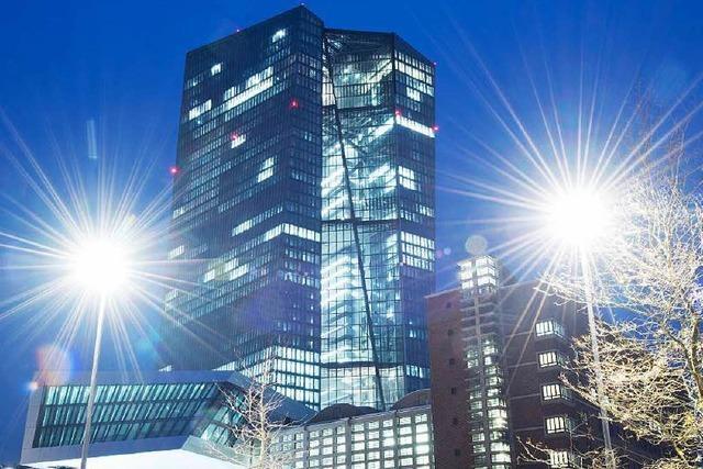 Zur Eröffnung des EZB-Neubaus Proteste befürchtet