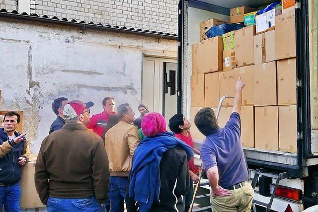 Hilfskonvoi aus dem Kaiserstuhl für Flüchtlinge im Nord-Irak
