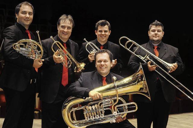 Classic Brass spielt