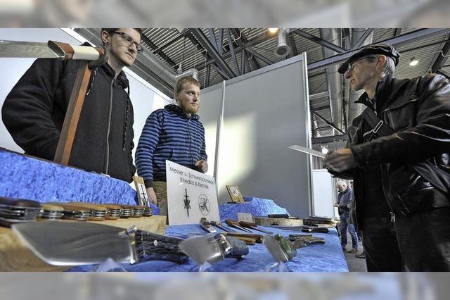 Messerbörse feiert Premiere auf der Freizeitmesse CFT in Freiburg