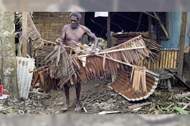 Zyklon verwüstet Inselstaat