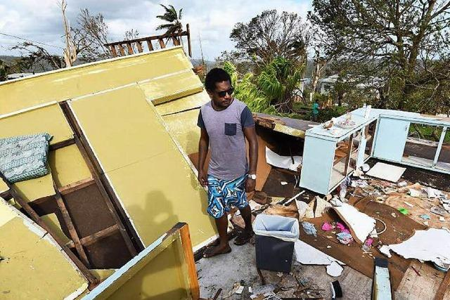 Caritas startet Soforthilfe für den Inselstaat Vanuatu