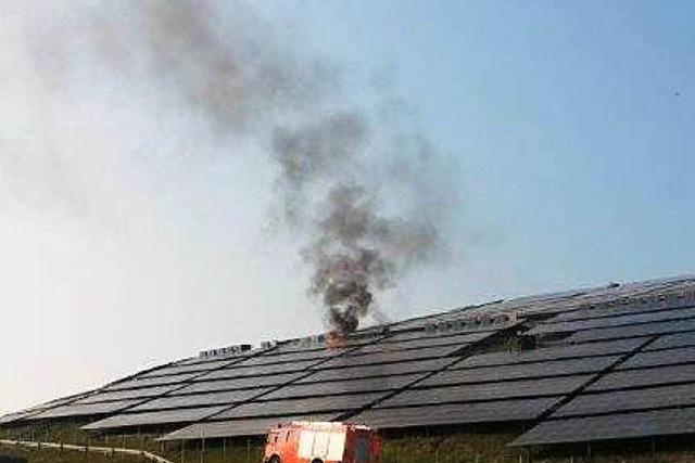 Brandfolgen: Freiburgs größte Solaranlage ist vom Netz