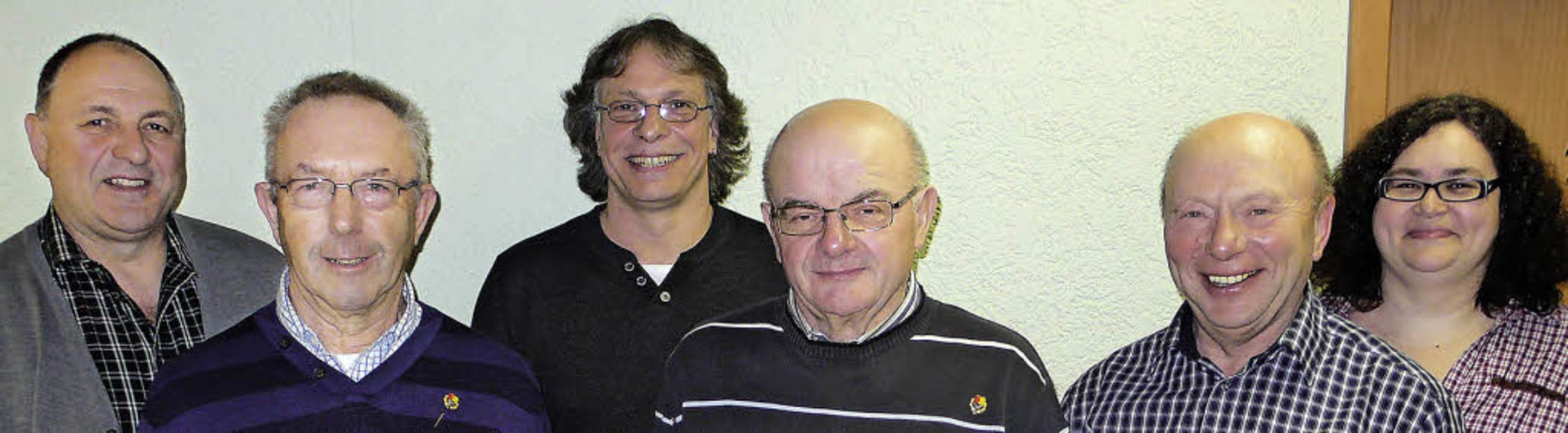 Langjährige Mitglieder wurden beim Mus... Maurer, Anton Schönstein, Heike Feger  | Foto: Rainer Schönstein