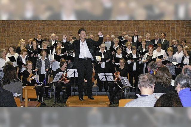 Froher Gesang in der Kirche
