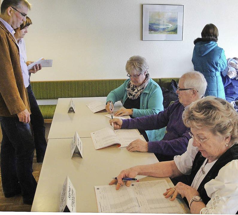 Bei der Pfarrgemeinderatswahl in der S... deutlich mehr, nämlich 22,6 Prozent.   | Foto: Hansjörg Bader