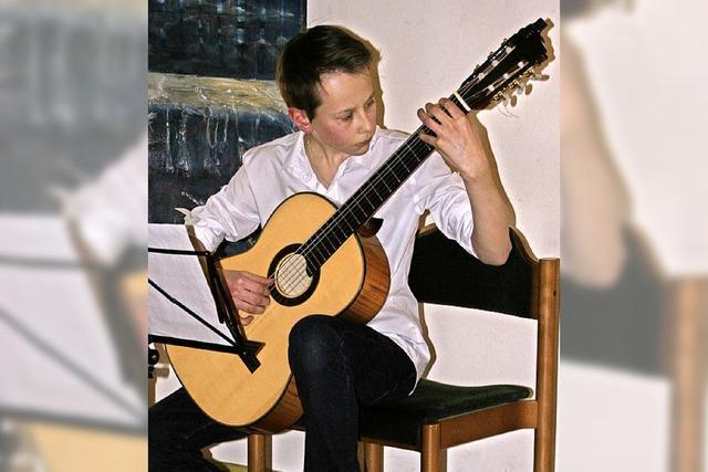 Musik wurde Sergey Fedorov in die Wiege gelegt